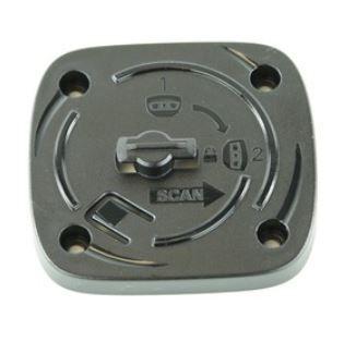 Table-/wall locking mount bracket, black, for Zebra DS9208