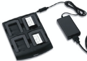 MC30/MC31 4 Slot Battery Charger Kit (INTL). Includes: 4 Slot Battery Charger SAC7X00-4000CR, corresponding Power Supply and DC Line Cord. Must order country specific 3-wire grounded AC Line Cord separately.