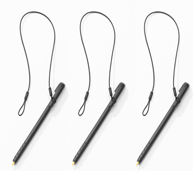 Optional stylus 3-pack for use with MC17T