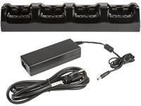 Charging station, 4 slots, incl.: power supply, power cord (EU), fits for: CT50, CT60