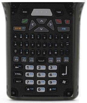 Kbd Long, 66 key, phone keys, Alpha QWERTY, Numeric Telephony, 6 Fn