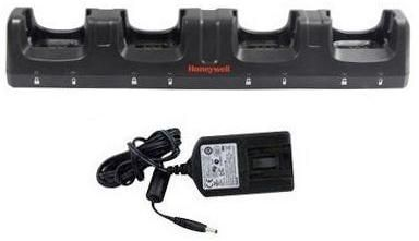 Dolphin 99EX ChargeBase. Four-bay terminal charging cradle. Includes power cord (UK) and power supply.