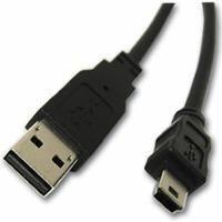 Cable, USB-A to USB-Mini B Plug, 2M RoHS
