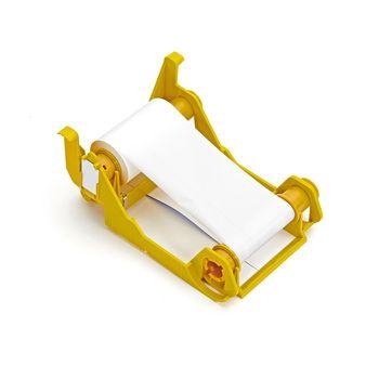 White Monochrome-ribbon for 850 plastic cards for Zebra ZXP 3