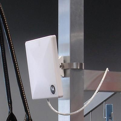 Small form-factor RFID antenna for indoor use (US frequency)