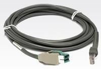 Connection cable, USB Power Plus, 4.6m, straight