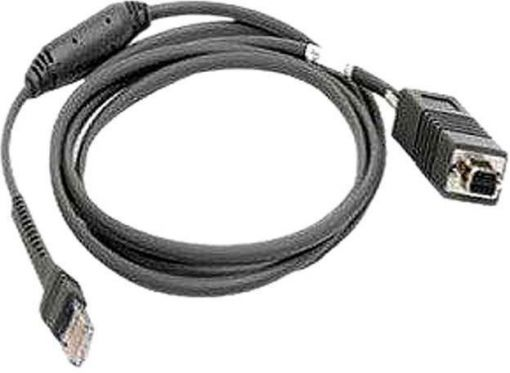 DS9808 RFID cable - USB, Series A, Straight, 8 ft., Requires 12V Power Supply.