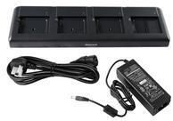 Battery charging station, 4 slots, incl.: power supply, power cord (EU), fits for: EDA50, EDA70
