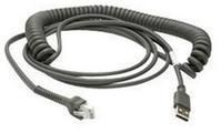 Connection cable, USB, shielded, type A, 4,6m, coiled