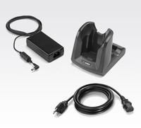 MC30/MC31 Single Slot Serial/USB Cradle Kit (INTL). Kit includes: Single Slot Cradle CRD3000-1001RR, corresponding power supply and DC Line Cord. Must order country specific 3-wire grounded AC Line Cord separately.