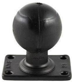 RAM rectangular base with 2.25'' rubber ball