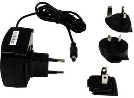 Power supply for Datalogic 1-bay cradle, regional plugs included, fits for cradle of Scorpio X3, Elf, Falcon X3