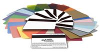 Card, Plastic, CR80/030, PVC Composite, White, w/ 1/2 in. Hi Co Mag Stripe, Tray, CONTAINS (500) of 803229-036