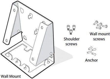 WALL bracket MOUNT KIT CV30 CPNT